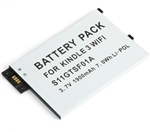 5 Pack Amazon Kindle 3 Wifi Battery