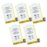 5 Pack Battery Apple iPhone 3GS 616-0431