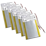 5 Pack Battery Apple iPod 1st and 2nd Gen