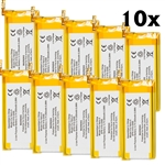10-Pack Battery for Apple iPod Nano 5th gen 5G