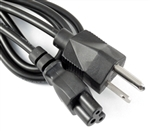 10 Pack 3 Prong AC Power Cable Cord Laptop Monitor