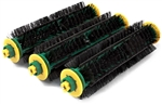 Green Bristle Brush 3-Pack for iRobot Roomba 500 600 Series Vacuums