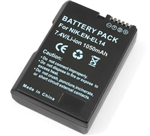 EN-EL14 Battery for Nikon D5100 P7100 Decoded
