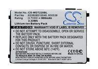 Battery for Unitech 4006-0319 1400-202501G 201709