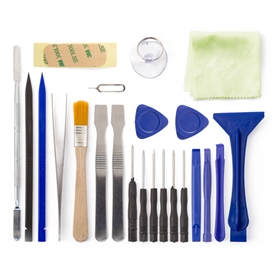23pcs Toolkit Opening Tools Screwdriver & Pry Tools Set