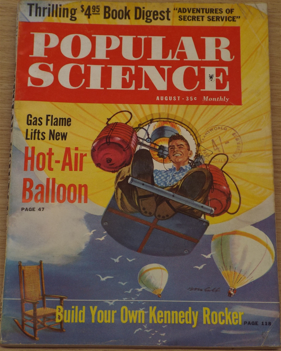 Vintage 1960 S Popular Science Magazines 3 Sold