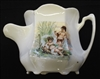 Victorian Continental Shaving Mug with Putti