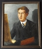 William Brown McIntyre Self Portait Oil Painting - Sold