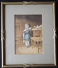 George Baxter Print 1854 'I Don't Like It' - Sold