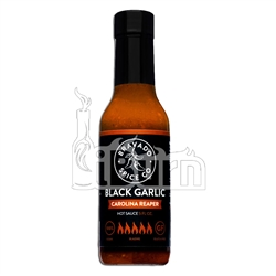 Bravado Spice Black Garlic Carolina Reaper Hot Sauce