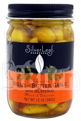 SilverLeaf Bread and Butter Garlic with Jalapenos
