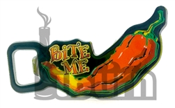 Bite Me Chile Pepper Bottle Opener / Magnet