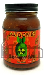 Da' Bomb Ghost Pepper Salsa