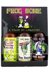 Frog Bone Hot Sauce Set
