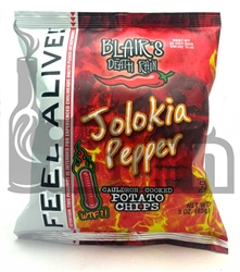 Blair's Death Rain Jolokia (Ghost) Pepper Potato Chips