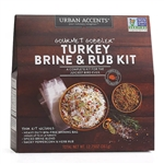 Urban Accents Gourmet Gobbler Turkey Brine & Rub Kit
