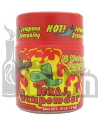 Sucklebusters Texas Gunpowder Original Jalapeno Powder Keg