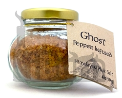 Heavenly Heat Ghost Pepper Infused Salt