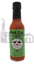 Fat Cat Mexican-Style Habanero Hot Sauce