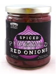 <h3>Stellar Gourmet Pickled Red Onions</h3>