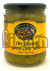 Santa Fe Seasons Fire Roasted Green Chile Salsa