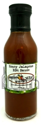 Sweet Heat Gourmet Honey Jalapeno BBQ Sauce