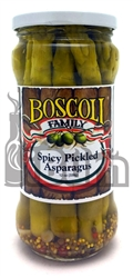 Boscoli Family Spicy Pickled Asparagus Spears