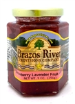 Brazos River Provisions Strawberry Lavender Jelly