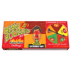 Jelly Belly Bean Boozled Fiery Five Spinner Gift Box