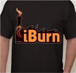 iBurn T-Shirt - Large