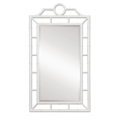 Bungalow 5 Chloe Mirror White - CHL-670-09