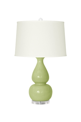 Emilia Table Lamp - Light Green