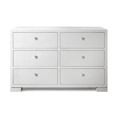 Bungalow5 - Frances Extra Large 6 Drawer Dresser White