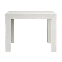 Parsons Side Table - White