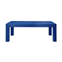 Parsons Coffee Table - Blue