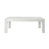 Parsons Coffee Table - White