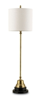 Messenger Brass Table Lamp