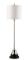 Messenger Nickel Table Lamp
