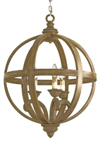 Axel Orb Small Chandelier