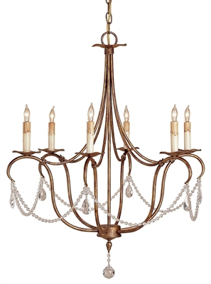 Crystal Light Small Chandelier