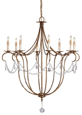Crystal Light Large Chandelier