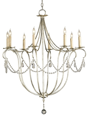 Crystal Lights Chandelier, Large