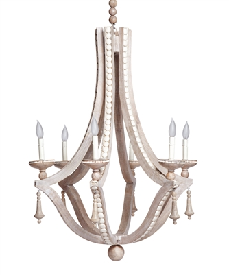 Cream Cabochon Chandelier