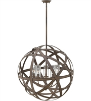 Carson Large Orb Exterior Pendant by Hinkley