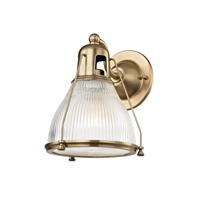 Haverhill wall sconce Hudson Valley Haverhill wall sconce 7301-AGB