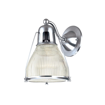 Haverhill wall sconce Hudson Valley Haverhill wall sconce 7301-PN