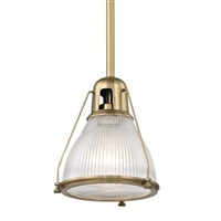 Haverhill pendant 7308AGB Hudson Valley Aged Brass