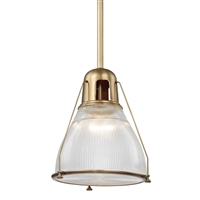 Haverhill pendant Hudson Valley Aged Brass