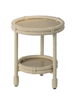 Jamie Young Delta Side Table 20DELT-STWH