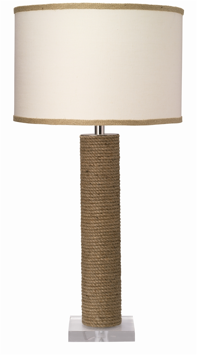 Jamie young cylinder rope table lamp mozeypictures Image collections